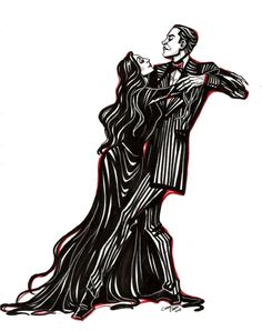 Gomez And Morticia by Muirin007.deviantart.com on @DeviantArt
