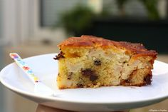 Gâteau rapide poires chocolat »