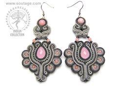 Sarahad earrings by Sutasz-Anka