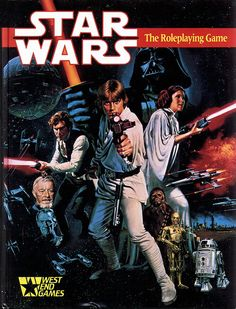 Star Wars RPG (WEG) | Book cover and interior art for Star Wars RPG - Roleplaying Game, Role Playing Game, Living Card Game, LCG, d20, d6, science fiction, Open Game License, OGL, Fantasy Flight Games, FFG, Fantasy Flight Publishing Inc. | Create your own roleplaying game books w/ RPG Bard: www.rpgbard.com | Not Trusty Sword art: click artwork for source