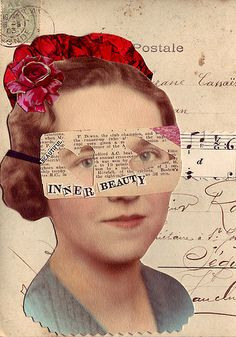 Inner Beauty by Paper Relics (Hope W. Karney), via Flickr