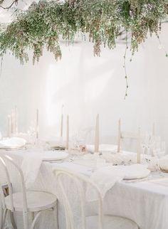 Romantic White-on-White Wedding Design