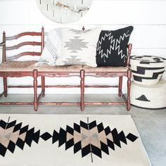 Zapotec Rugs | Neutral Aztec Design | Multiple Sizes   – The Citizenry