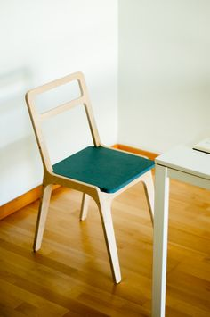 Slim Chair designed by Jose Pacheco for https://opendesk.cc