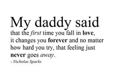 nicholas sparks first love quotes - Google Search