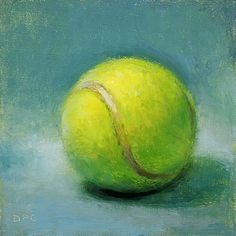 tennis ball painting