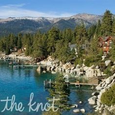 Lake Tahoe.  No matter what time of year you go, Lake Tahoe offers plenty to do whether it's hot or cold outside. Nestled in the Sierra Nevada Mountains, this area boasts breathtaking panoramic views of the freshwater lake and surrounding peaks from almost every resort and restaurant.