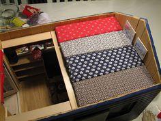 Mine dukkehuse: Her har jeg lavet 4 ekstra madrasser, som skal lig...