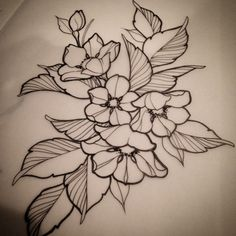 Cherry blossom bundle. #tattoo #PaintedLotus #victoriabc