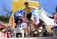 ロジャースがステージ2勝目、キンタナは総合優勝に王手 ジロ・デ・イタリア