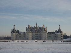 \\ Chateau de Chambord en hiver