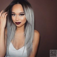 #Could You Rock Granny #Hair? These #Grey-Hair Inspos Will Make You Say… #Chalk