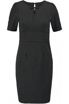 c0a035c0080bea Dames - VIVE MARIA A LA FRANCAISE Zakelijke jurk black Tweed
