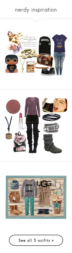 """nerdy inspiration"" by amelie-frojd on Polyvore featuring Sirius, Funko, River Island, Bling Jewelry, Warner Bros., Vans, Generation Y, Balenciaga, Phillip Gavriel and Catherine Michiels"