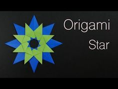 How to make a Ninja Star Christmas 43 [Origami Hiroshi] Origami 3d Star, Ninja Star, How To Make Origami, Christmas Origami, Paper Stars, Christmas Makes, Artsy Fartsy, Paper Crafts, Youtube Youtube