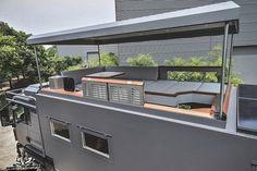Diy Camper Trailer, Car Trailer, Trailers, Overland Truck, Expedition Vehicle, Toyota Motorhome, Iveco 4x4, Restaurant Exterior Design, Luxury Motorhomes