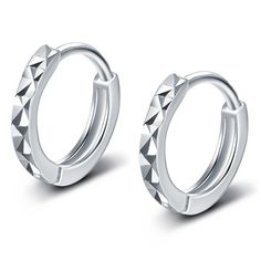 GoodShoop New 925 Sterling silver Clip Earrings Ear Cuffs For Men and Women Jewelry >>> Read more reviews of the product by visiting the link on the image.
