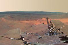 Panorama of Mars by NASA