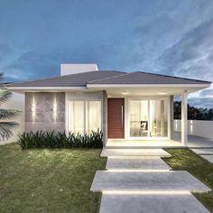 House Floor Design, Bungalow House Design, Small House Design, Modern House Design, Home Building Design, Home Design Plans, Building A House, Small Modern House Plans, Best House Plans