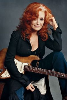 Bonnie Raitt...one of my most favorite singers, guitar players and entertainers.  What a woman...go Bonnie!