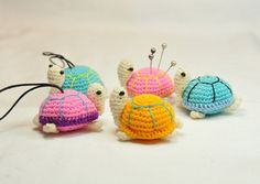 Tiny Turtle Pin Cushions