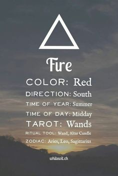 Fire Element Wicca