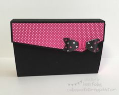 Card Box Holder :: Confessions of a Stamping Addict Lorri Heiling CASE of Elodie Bertrand's box