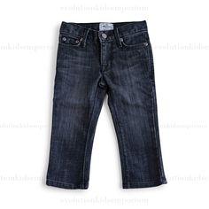 La Miniatura Vintage Black Straight Leg Jeans