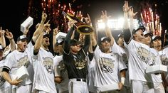 Congratulations to the 2014 Vanderbilt Baseball Team - NCAA National Champions! Dansby Swanson, Vanderbilt Commodores, Vanderbilt University, The Championship, Athlete, Baseball, Boys, Sports Teams, Nashville