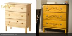 ikea tarva before and after