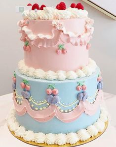 Take The Cake, Cute Cakes, Cake Art, Sweet Stuff, Cake Decorating, Sweets, Retro, Desserts, Food