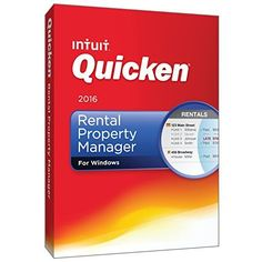 Quicken Rental Property Manager 2016 Personal Finance & Budgeting Software