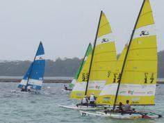 World Hobie Cat 16, Jervis Bay Australia 2014 finals