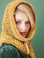 """snood"" - infinity scarf/hood pattern pretty fall colors (Knitting for Beginner - Scarf Knitting Pattern at WomansDay.com)"
