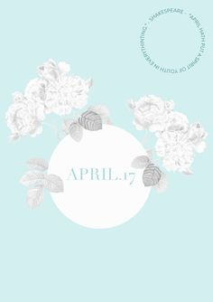 April.17 by phylleli. Spring is finally here, April means Summer is coming closer. It is the right time to go outdoors again, to spend time with friends in the Biergarten and to enjoy all the pretty things that Spring brings. #blogger #graphicdesign #design #pastels #shakespeare #softtones #freelancer #workwithme #editorialdesign #floraldesign #designtherapy #designheals #typography #sofftones #photography #practicahaceelmaestro