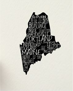 The way life should be.   a word about MAINE August USA 11 x 14 digital by hunterandsmile
