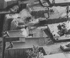 LAWRENCE HALPRINWALK-IN WATERFALL IN PORTLAND, 70s