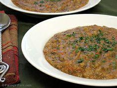 Farmgirl Fare: Roasted Garlic Lover's White Bean Soup Recipe (Vegetarian, Vegan, Fat Free)