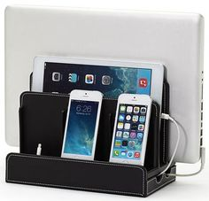 Multi-device charging station for electronics {featured on Home Storage Solutions 101}