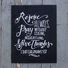 1 Thessalonians 5:17-- beautiful artwork!