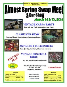 Best Car Show Flyers Images On Pinterest Car Show Flyers And - Blank car show flyer