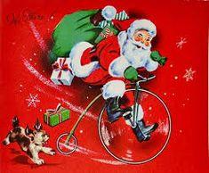 Image result for vintage christmas art