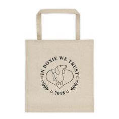 In Doxie We Trust - Tote Bag
