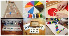 Materiales educativos Montessori DIY ideales para trabajar en casa y en clase El método Montessori esta basado en investigaciones cientificas relacionadas con la capacidad de los niños para absorber conocimiento de sus alrededores, así...