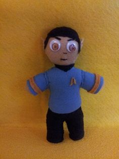 Spock Doll I made for my aunt