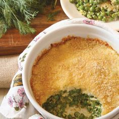 Grab vegetables fresh from the garden for this delicious Sweet Peas Casserole Recipe.data-pin-do=