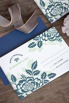 Whimsical Romance Wedding Stationery | The Evermine Blog | www.evermine.com