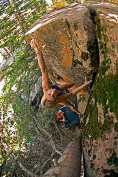 Cerre Cudney, High Uinta -- NO! I'm not looking down, don't care what you say! Sport Climbing, Rock Climbing, Climbing Wall, Parkour, Snowboard, Bouldering Wall, Beautiful Pregnancy, Fast Growing Plants, Rappelling