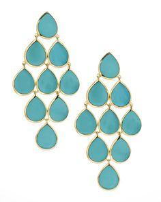 Ippolita Turquoise Cascade Earrings