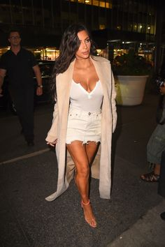 Kim out for dinner in NYC - August 29, 2016